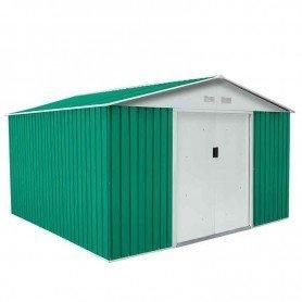Caseta metálica Bedford verde 11,59 m2