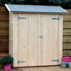 Cobertizo armario madera Marge