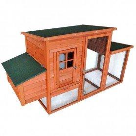 Gallinero de madera/galvanizado Madison