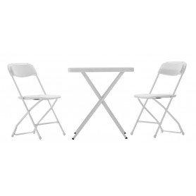 Set de silla y mesa plegable