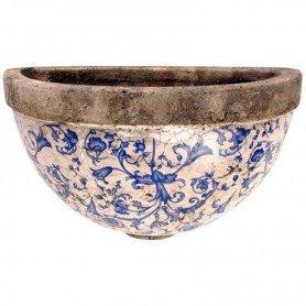 Macetero cerámica pared