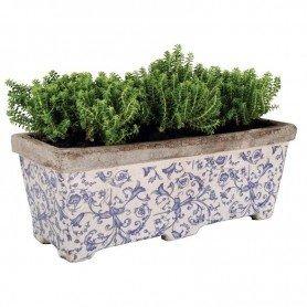 Jardinera balconera de cerámica