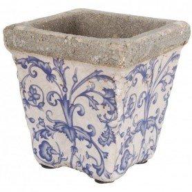 Tiesto cuadrado ceramica mediano