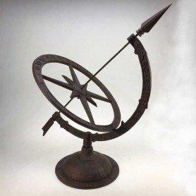 Reloj de sol grande de hierro