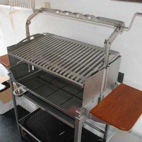 Barbacoa Inox Deluxe 720