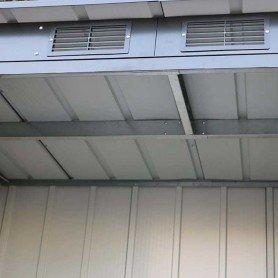 Cobertizos de Metal Pent Roof