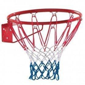 Aro de baloncesto con red