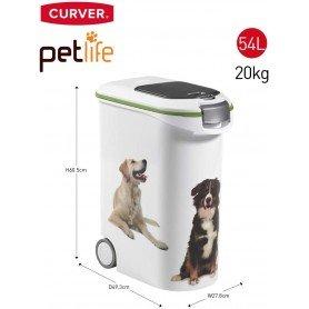 Contenedor de pienso para perros de 20 kg