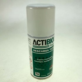 Actibiol, descarga total 150 ml. Diptron Fogger