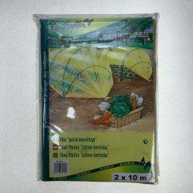 Túnel Plástico Cultivos hortícolas 2x10 m
