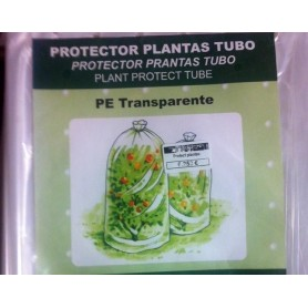 Protector de plantas tubo perforado 0.75x10 metros