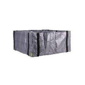 Huerto urbano ZiggZagg gris cuadrado 80x80x15