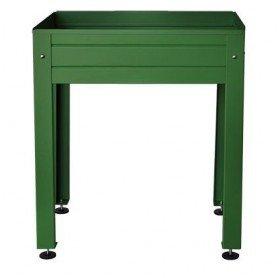 mesa de cultivo Lacada 750x500x850 verde o marron