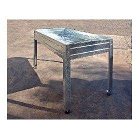 Mesa de cultivo 150x50x85 Galvanizada