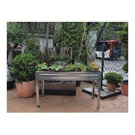 Mesa de cultivo 150x75x85 Galvanizada