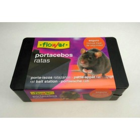 Portacebos para ratas Flower