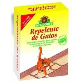 Repelente de gatos natural