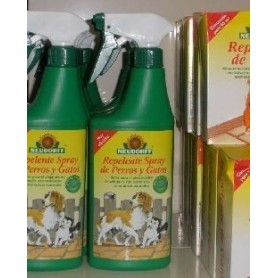 Repelente spray de perros y gatos
