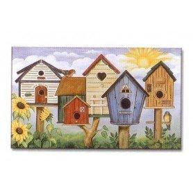 Alfombra Birdhouse Row