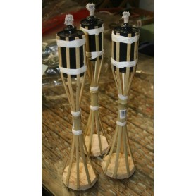 Antorcha bambu de pie 35 cm