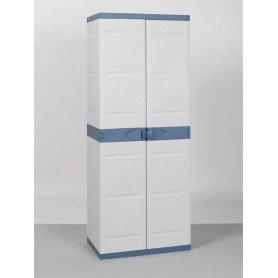 Armario 70 cm 4 estantes titanium beig