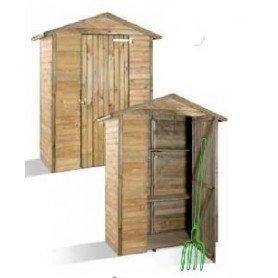 Armario de jardin de madera Merina