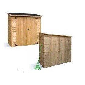 Armario de jardin de madera Savona