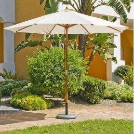 Parasol madera reforzado Luz