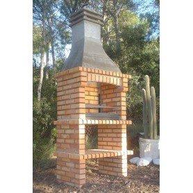 Barbacoa ladrillo refractario Ebro