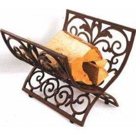 Cesto para madera de hierro