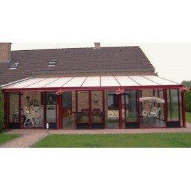 Invernadero veranda grandiosa 2.33x3.1 y 7.2 m2