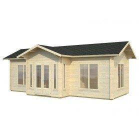 Caseta de madera Anna 26,8 m2