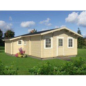 Casa de madera Emily 39,2 m2