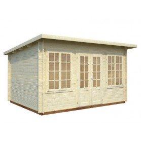 Casita de madera Lisa 11,5 m2