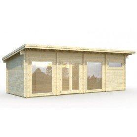 Casa de madera Heidi 22,8 m2