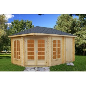 Pabellon de madera Palmako Melanie 10,7 m2