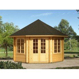 Pabellon de madera Palmako Hanna 7,6 m2