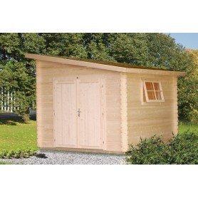 Cobertizo de madera Palmako Leif 7,3 m2