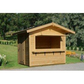Kiosco de madera Stella 28 mm