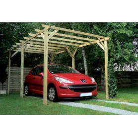 Carport de madera Maranello