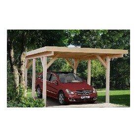 Garaje de madera Palmako Karl 11,7 m2