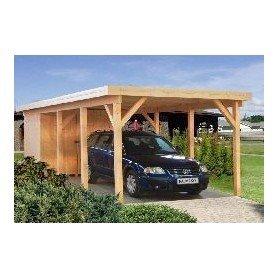 Garaje de madera Palmako Karl 23,1 m2