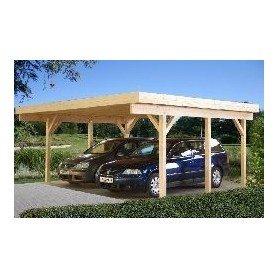 Garaje de madera Palmako Karl 20,6 m2