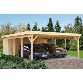 Garaje de madera Palmako Karl 40,6 m2