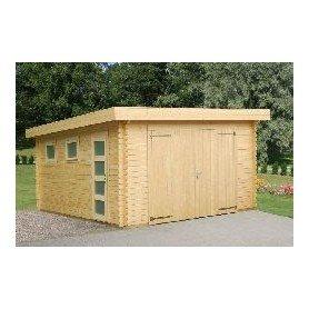 Garaje de madera Palmako Rasmus 19 m2