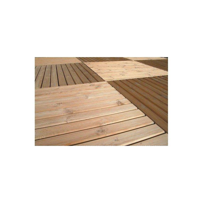 Baldosa madera 100X100 cm ud