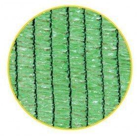 Malla sombreo 70 por ciento verde claro