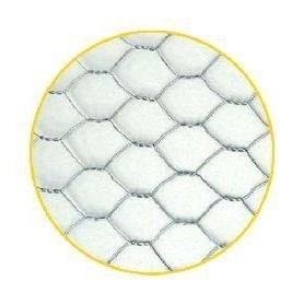 Malla hexagonal galvanizada triple torsion
