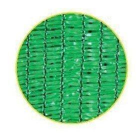 Malla sombreo 90 por ciento verde claro