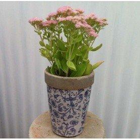 Florero redondo ceramica mediano